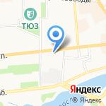 Аквариум на карте Ярославля