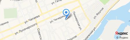 Детский сад №5 Журавлик на карте Аксая