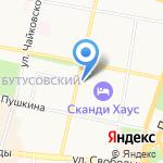 Камертон на карте Ярославля