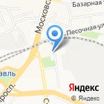 Магистраль на карте Ярославля