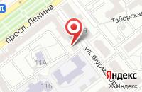 Схема проезда до компании Единая Россия в Ярославле