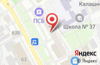 Схема проезда до компании Мостинвестстрой в Ярославле