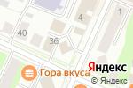 Схема проезда до компании Центр Правовой Помощи в Вологде