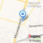 7+5 на карте Ярославля