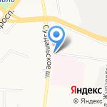 Детская поликлиника №2 на карте Ярославля