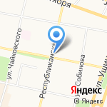 Эталон Эстейт на карте Ярославля