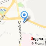Московский государственный университет путей сообщения на карте Ярославля