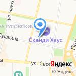 Медикор на карте Ярославля