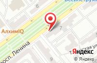 Схема проезда до компании Дарьял в Ярославле
