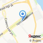 Ярпицца на карте Ярославля