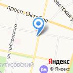 Яр Века на карте Ярославля
