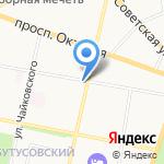 Полиграфбумага на карте Ярославля