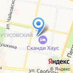 Юнона на карте Ярославля