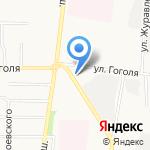 Вершина на карте Ярославля
