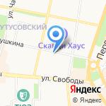 Агентство по приватизации жилья г. Ярославля на карте Ярославля