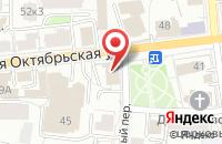 Схема проезда до компании Позитив в Ярославле