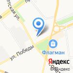 СтройВиза на карте Ярославля