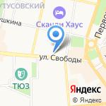 Юридический центр на карте Ярославля