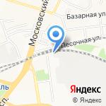 Электровозоремонтный техникум на карте Ярославля