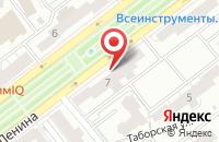 Схема проезда до компании На Проспекте в Ярославле