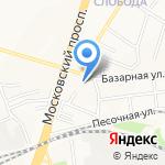 Лума на карте Ярославля