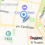 Бульвар на карте Ярославля