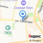 Спецдизельсервис на карте Ярославля
