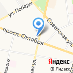 Ной на карте Ярославля