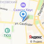 РМТ на карте Ярославля