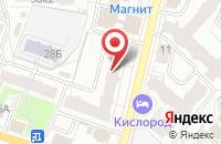 Схема проезда до компании Безопасный режим в Ярославле