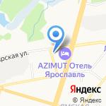 Шприц на карте Ярославля
