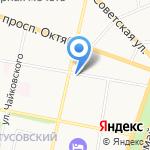 Паллада на карте Ярославля