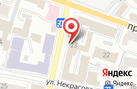 Схема проезда до компании УФСИН в Ярославле