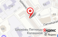 Схема проезда до компании Всероссийское общество инвалидов Ленинского района в Ярославле