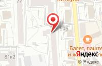 Схема проезда до компании Народный дом в Ярославле