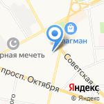Цветочница на карте Ярославля