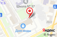 Схема проезда до компании АКЦент в Ярославле