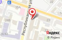 Схема проезда до компании Инспекция в Ярославле