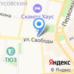 Стрелец-95 на карте Ярославля