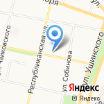 СК Бюро на карте Ярославля