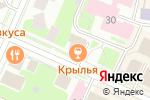 Схема проезда до компании Бигуди в Вологде