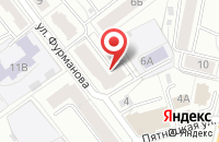 Схема проезда до компании Insert в Ярославле