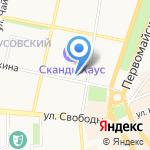 ЯНАПУШКИНА на карте Ярославля