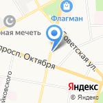 Кислород на карте Ярославля
