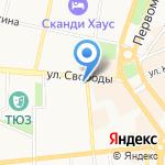 Нотариус Штыкова О.П. на карте Ярославля