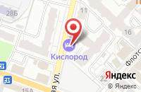 Схема проезда до компании Астория в Абинске