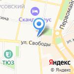 Велоцентр на карте Ярославля