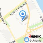 Сауна на Фурманова на карте Ярославля