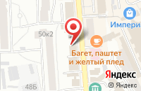 Схема проезда до компании OMG Sushi в Ярославле