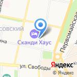 Дома и Квартиры на карте Ярославля